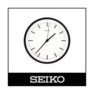 SEIKO / セイコー  電波時計 STANDARD ANALOG CLOCK / スタンダード アナログクロック  Sサイズ / ブラック ( KX310K )|p-s