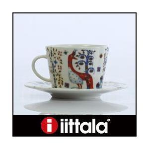 イッタラ タイカ  コーヒーカップ&ソーサー 一客 ホワイト|p-s