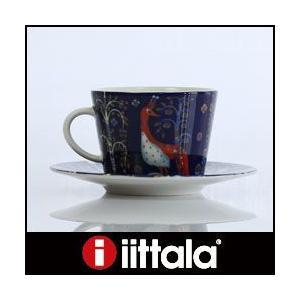 イッタラ タイカ  コーヒーカップ&ソーサー 一客 ブルー p-s