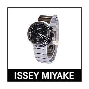 ISSEY MIYAKE 腕時計 TRAPEZOID トラペゾイド SILAQ001 メタルバンドモデル ブラック×メタル p-s