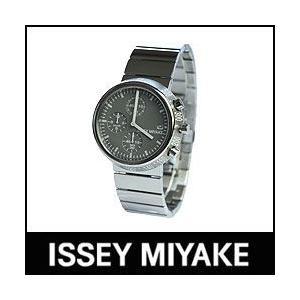 ISSEY MIYAKE 腕時計 TRAPEZOID トラペゾイド SILAQ004 メタルバンドモデル グレー×メタル p-s