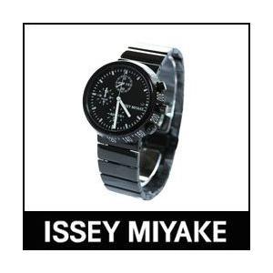 ISSEY MIYAKE 腕時計 TRAPEZOID トラペゾイド SILAQ005 メタルバンドモデル ブラック×ブラック p-s