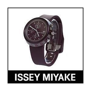 ISSEY MIYAKE 腕時計 TRAPEZOID AL トラペゾイド アルミニウム SILAT006 ポリウレタンバンドモデル バイオレット p-s