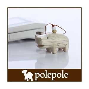 polepole ぽれぽれ 木製 雑貨 ストラップ カバ|p-s