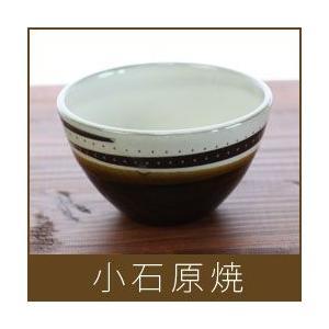 小石原焼 カフェオレボウル / 白|p-s