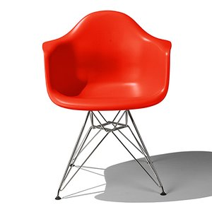 Eames / イームズ Shell Chair Arm Chair(DAR)/レッド|p-s
