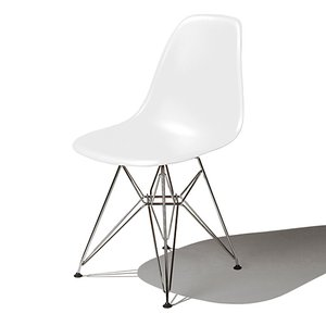 Eames / イームズ Shell Chair Side Chair(DSR)/ホワイト|p-s