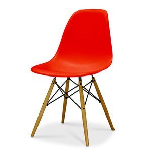 Eames / イームズ Shell Chair Side Chair(DSW)/レッド|p-s