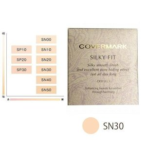 カバーマーク ファンデーション シルキー フィット SN30 リフィル 送料無料|p-shop