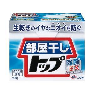 (まとめ) ライオン 粉末洗剤 部屋干しトップ除菌EX 0.9kg×8箱〔×3セット〕