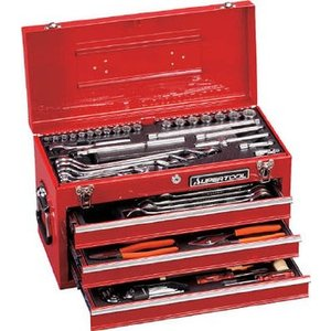 【送料無料】ス−パ−プロ用デラックス工具セット S8000DX|pack-mate