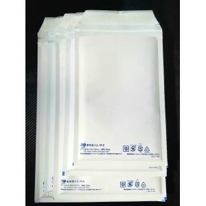送料無料(法人様のみ) クッション封筒 まもるくん M6 ミナパック プチプチ テープ付き 白紙 280mm×360mm 100枚入 A4 書類 本 雑誌 DVD  メーカー直送|pack8983