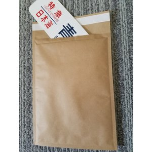 プチプチ 封筒 テープ付き 茶紙 クッション セフティーライト -4 190mm×272mm 300枚 CD DVD 書類 ファイル 本 雑誌 川上産業 メーカー直送 代引き不可|pack8983