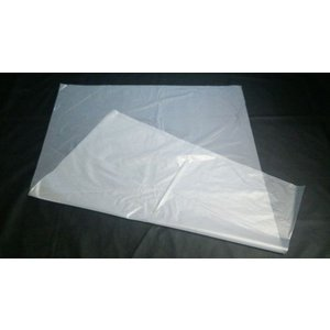 HDPE袋 ハイデン 高密度ポリ袋 強化ポリ袋 受注生産 650mm×1,200mm 厚み0.020mm 1,700枚 メーカー直送 商品代引利用不可|pack8983