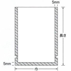 真空パック用袋 ナイロンポリ Fタイプ No.19(150×350mm) 福助工業|package-plus-one|02