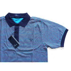 【Fred Perry】 フレッドペリー M6291 143  BLUE|paddies