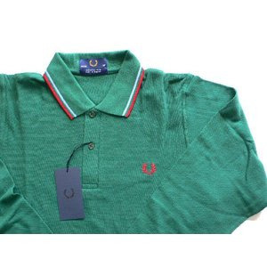 【Fred Perry】 フレッドペリー M7110 145 GREEN Size38|paddies