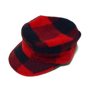 【New York Hat】 ニューヨーク・ハット #9416 Private Buffalo ブラック/レッド|paddies