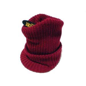【New York Hat】 ニューヨーク・ハット #4649 Chunky Radar バーガンディー|paddies
