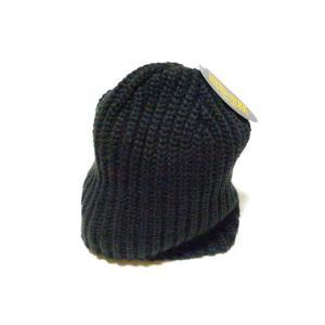 【New York Hat】 ニューヨーク・ハット #4655 Chunky Beanie ブラック|paddies