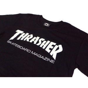 【Thrasher】 スラッシャー SKATE MAG T-SHIRTS ブラック|paddies