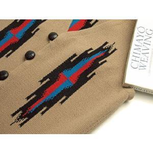 【Ortega's】 オルテガ 手織りチマヨ・ベスト セリーナ・セラーノ作 【限定ファブリック】 サイズ36 タン 83RG-36245|paddies|03
