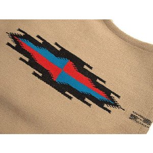 【Ortega's】 オルテガ 手織りチマヨ・ベスト セリーナ・セラーノ作 【限定ファブリック】 サイズ36 タン 83RG-36245|paddies|04