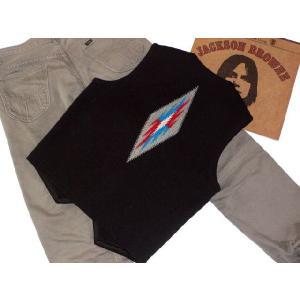 【Ortega's】 オルテガ 手織りチマヨ・ベスト サイズ36 ブラック【限定色】 83RG-36254|paddies|02