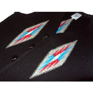 【Ortega's】 オルテガ 手織りチマヨ・ベスト サイズ36 ブラック【限定色】 83RG-36254|paddies|03