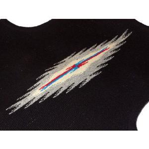 【Ortega's】 オルテガ 手織りチマヨ・ベスト サイズ38 ブラック【限定色】 83RG-38266|paddies|04