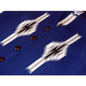 【Ortega's】 オルテガ 手織りチマヨ・ベスト サイズ38 ネイビー【限定色】 83RG-38269|paddies|03