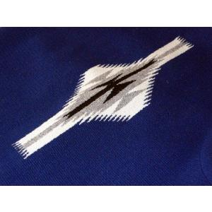 【Ortega's】 オルテガ 手織りチマヨ・ベスト サイズ38 ネイビー【限定色】 83RG-38269|paddies|04