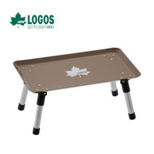 LOGOS ロゴス スタックカラータフテーブル(ヴィンテージキャラメル) キャンプ スタック ミニテーブル 折り畳み :73189050|paddle-club