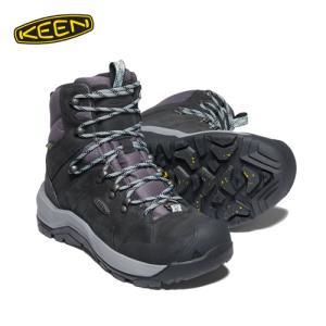 キーン KEEN REVEL IV MID POLAR Black,Harbor Grey 20-21 レディースウィンターブーツ 防寒靴 アウトドアシューズ 1023631 paddle-sa