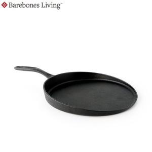 BAREBONES LIVING ベアボーンズリビング フラットパン Cast iron flate pan ダッチオーブン 鍋 キャンプ (ONE):20235015 paddle-sa