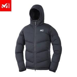 MILLET ミレー MONT MAUDIT STRETCH DOWN JKT ダウン ジャケット メンズ (BLACK-NOIR):MIV01746|paddle-sa