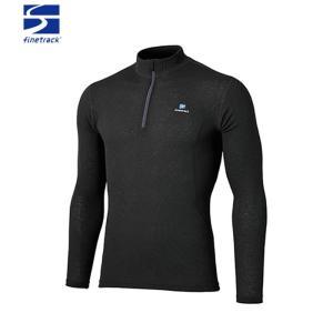 ファイントラック finetrack メンズ メリノスピンライトジップネック 長袖 ZIPシャツ FUM0712|paddle-sa