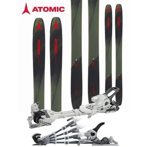 ATOMIC アトミック 18-19 スキー 2019 BACKLAND 117 (チロリア アンビション 12 AT 金具付き 2点セット) パウダー (one):BACKLAND117SET|paddle-sa