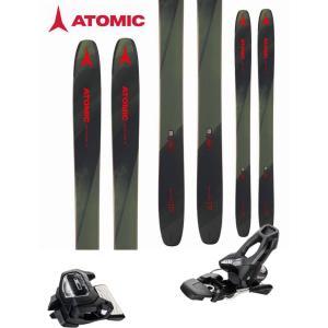 ATOMIC アトミック 18-19 スキー 2019 BACKLAND 117 (チロリア アタック11 GW 金具付き 2点セット) パウダー ロッカー  (one):BACKLAND117SET|paddle-sa
