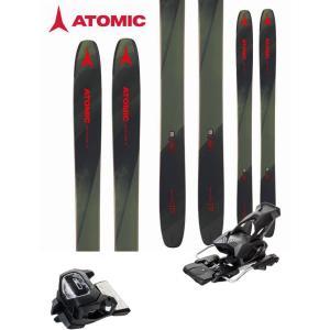 ATOMIC アトミック 18-19 スキー 2019 BACKLAND 117 (チロリア アタック13 GW 金具付き 2点セット) パウダー ロッカー  (one):BACKLAND117SET|paddle-sa