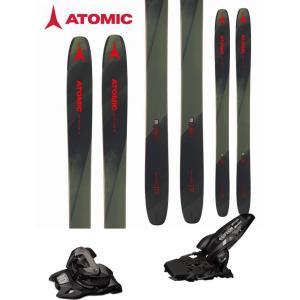 ATOMIC アトミック 18-19 スキー 2019 BACKLAND 117 (マーカー GRIFFON 13 ID 金具付き 2点セット) パウダー ロッカー  (one):BACKLAND117SET|paddle-sa