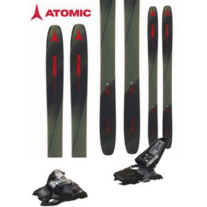 ATOMIC アトミック 18-19 スキー 2019 BACKLAND 117 (マーカー SQUIRE 11 ID 金具付き 2点セット) パウダー ロッカー  (one):BACKLAND117SET|paddle-sa
