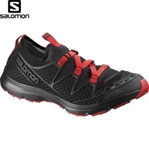 SALOMON サロモン CROSSAMPHIBIAN MEN 〔FOOTWEAR シューズ Mens 2017SS 〕 (BK-BK-RADIANT-R):L37967300|paddle-sa