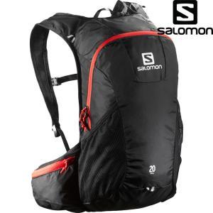 SALOMON サロモン TRAIL 20 〔デイパック BAG 2017SS 〕 (BLACK-BRIGHT-RED):L37998100|paddle-sa