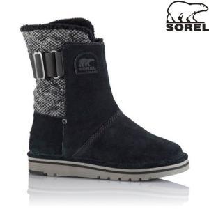 SOREL ソレル 特価 NEWBIE PREMIUM ニュービープレミアム 〔防寒靴 ウィンターシューズ レディース〕 (010ブラック):LL5196|paddle-sa