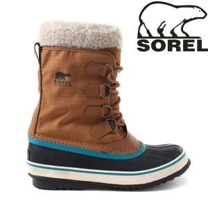 防水ナイロンをアッパーに施したブーツ。フェルトインナーで雨や雪をしっかりとガードし、着脱もしやすいの...