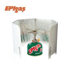 EPIgas イーピーアイ EPIgas風防 A-6503 キャンプ ソロ ストーブ ランタン ガス|paddle-sa