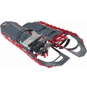 MSR エムエスアール スノーシュー Revo Ascent レボ アッセント (Mens Size:22インチ)Snowshoe バックカントリー ツアー (red):40617 paddle-sa