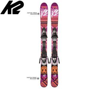 K2 スキー板 ケーツー 16-17 2017 ラブバグ Luv Bug (金具付き) ジュニア オールラウンド 【送料無料】[pd滑_ski] paddle-sa