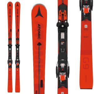 ATOMIC アトミック 19-20 スキー 2020 REDSTER G9 レッドスター (金具付き) スキー板 レーシング デモ ショート (onecolor):|paddle-sa